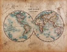 Harita - duvar posteri harita 127374929