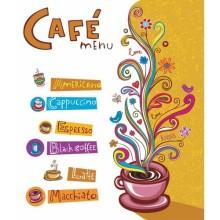 Cafe - duvar posteri cafe 70561495