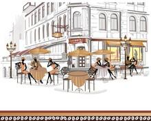 Cafe - duvar posteri cafe A702-009