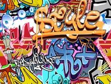 Graffiti - duvar posteri graffiti A207-004