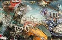 Graffiti - duvar posteri graffiti N-1273