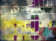 Graffiti - duvar posteri graffiti N-904