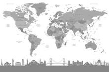 Harita - duvar posteri harita A500-010