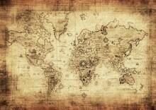 Harita - duvar posteri harita N-870-2