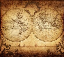 Harita - duvar posteri harita N-898