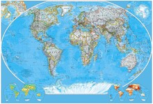 Harita - duvar posteri harita n264