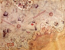 Harita - duvar posteri harita N503