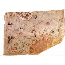 Harita - Duvar Posteri Harita Piri Reis