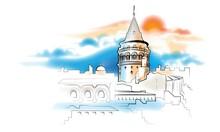İstanbul - duvar posteri istanbul A301-004