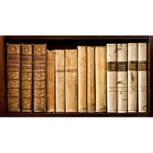 Kitaplık - duvar posteri kitaplık 30404386