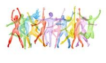 Müzik Dans - duvar posteri müzik dans A209-009