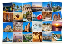 Turizm - duvar posteri turizm A501-009