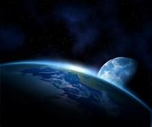 Uzay - duvar posteri uzay 64087615