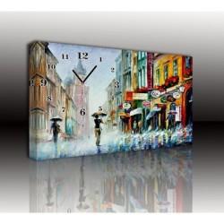 Mykağıtcım Kanvas Saat 30x40 cm - kanvas saat 30-40 (101)