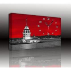 Mykağıtcım Kanvas Saat 30x40 cm - kanvas saat 30-40 (103)