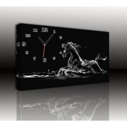 Mykağıtcım Kanvas Saat 30x40 cm - kanvas saat 30-40 (106)
