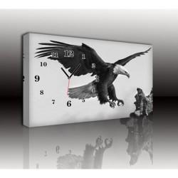 Mykağıtcım Kanvas Saat 30x40 cm - kanvas saat 30-40 (117)