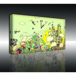Mykağıtcım Kanvas Saat 30x40 cm - kanvas saat 30-40 (28)