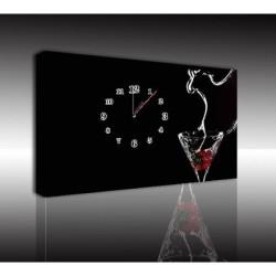Mykağıtcım Kanvas Saat 30x40 cm - kanvas saat 30-40 (35)