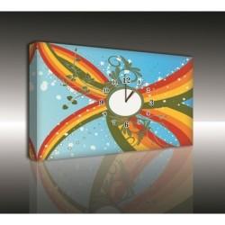 Mykağıtcım Kanvas Saat 30x40 cm - kanvas saat 30-40 (37)