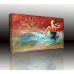 Mykağıtcım Kanvas Saat 30x40 cm - kanvas saat 30-40 (99)