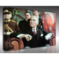 Kanvas Tablo Atatürk - Kanvas Tablo 00091