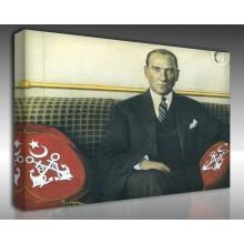 Kanvas Tablo Atatürk - Kanvas Tablo 00094