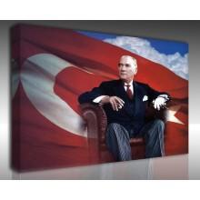 Kanvas Tablo Atatürk - Kanvas Tablo 00096