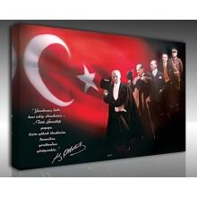Kanvas Tablo Atatürk - Kanvas Tablo 00097