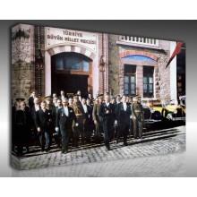 Kanvas Tablo Atatürk - Kanvas Tablo 00099