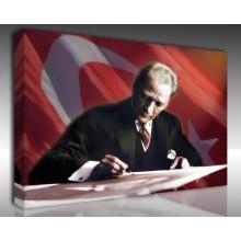 Kanvas Tablo Atatürk - Kanvas Tablo 00100