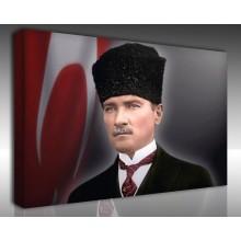 Kanvas Tablo Atatürk - Kanvas Tablo 00104