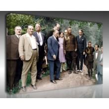 Kanvas Tablo Atatürk - Kanvas Tablo 00107