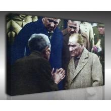 Kanvas Tablo Atatürk - Kanvas Tablo 00115