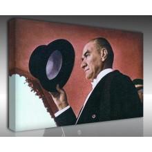 Kanvas Tablo Atatürk - Kanvas Tablo 00117
