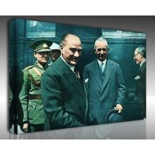 Kanvas Tablo Atatürk - Kanvas Tablo 00118