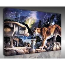 Kanvas Tablo Hayvanlar - Kanvas Tablo 00567