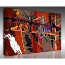 Kanvas Tablo Soyut - Kanvas Tablo 00872