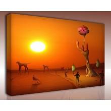 Kanvas Tablo Soyut - Kanvas Tablo 00972