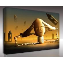 Kanvas Tablo Soyut - Kanvas Tablo 01004