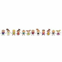 Mykağıtcım Çocuk Bordur 5 mt - my çocuk bordur 55