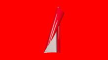 Unifol Plotter Serisi Parlak - Unifol Yapışkanlı Folyo Parlak 3732 Kırmızı