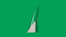 Unifol Plotter Serisi Parlak - Unifol Yapışkanlı Folyo Parlak 3754 Çimen Yeşili