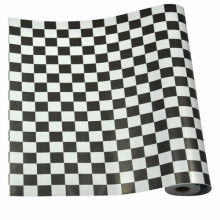 Mykağıtcım Desenli Folyolar - Yapışkanlı Folyo 5590 Siyah Beyaz 45 cm x 1 mt