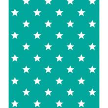 Alkor D-c-fix Dekore - Yapışkanlı Folyo Alkor 280-0110 Liberty Türkis Cam Göbeği Rengi Beyaz Yıdız