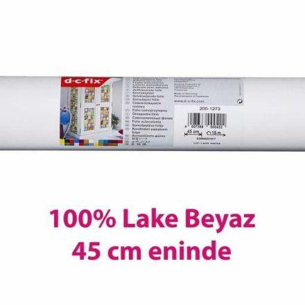 Yapışkanlı Folyo D-C-Fix 200-1273 Lake Parlak Beyaz RAL 9016