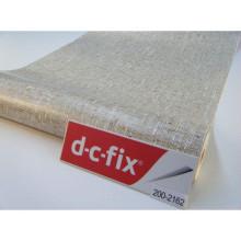 D-C-Fix Designfolie - Yapışkanlı Folyo D-C-Fix 200-2162 Textilgewebe Braun