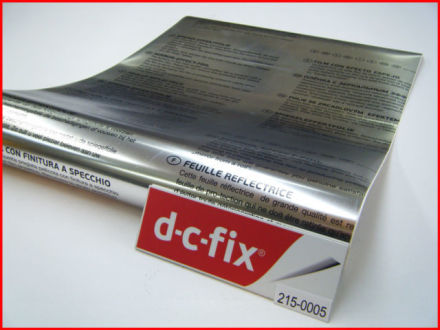 Yapışkanlı Folyo D-C-Fix 215-0001 Ayna Folyo