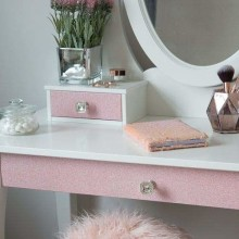 D-C-Fix Simli Folyo - Yapışkanlı Folyo D-C-Fix 341-8013 Glitter Rose Pink Simli