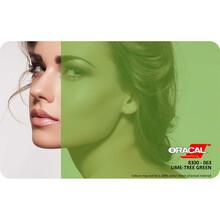 Oracal Transparan - Yapışkanlı Folyo Transparan 063 Ağaç Yeşili